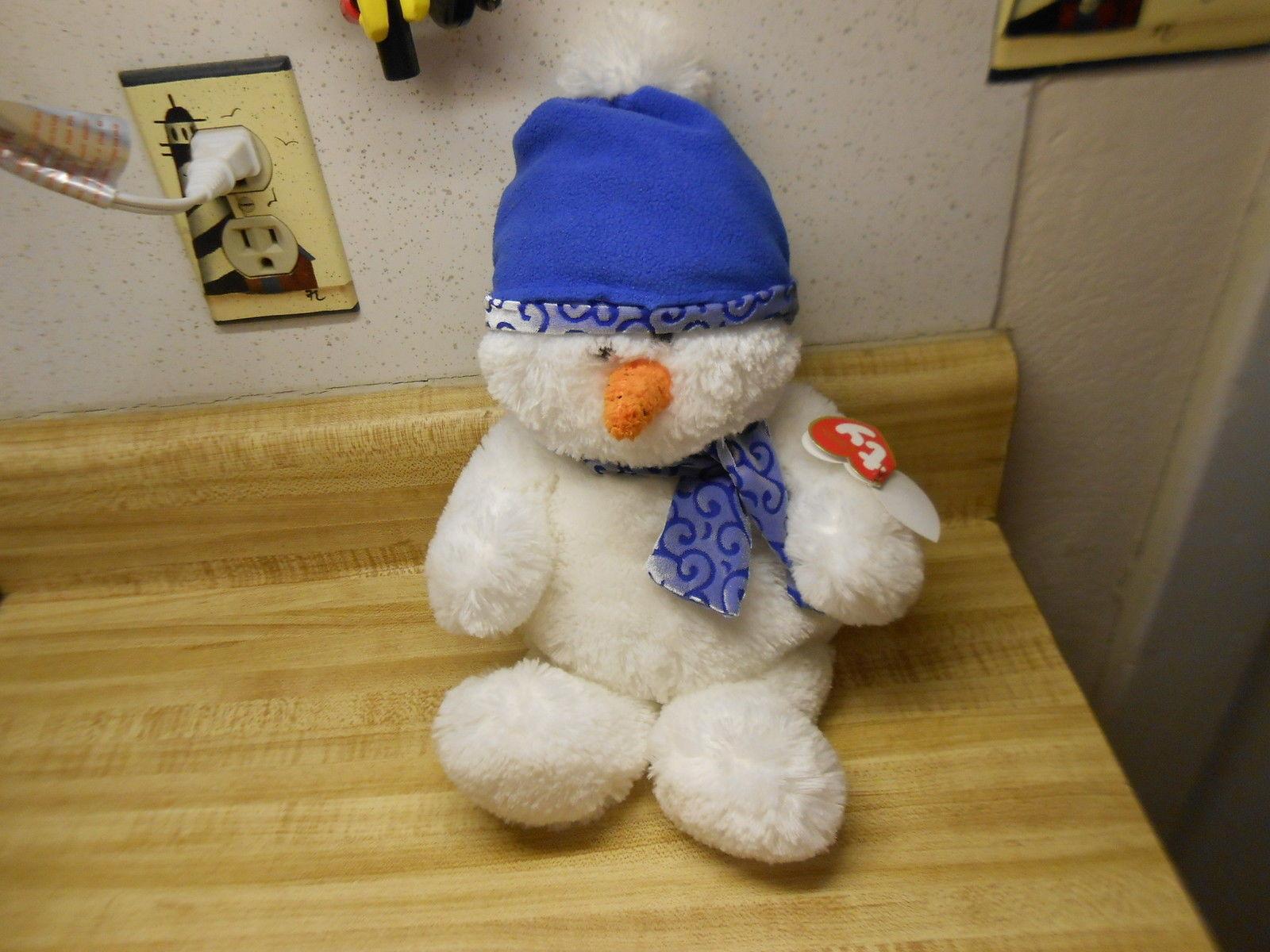 ty beanie babies snowman with bean bag bottom from 2007 ty Igloo snowman
