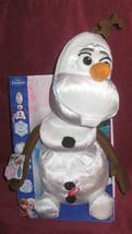 Walt Disney Frozen. Olaf the Talking Snowman 15 inch. Brand New in Box. - $29.69