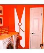 """Clothespin Laundry Room Vinyl Wall Sticker Decal 16.5""""w x 60""""h - $45.00"""