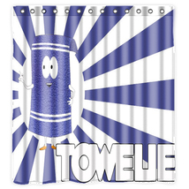 TOWELIE SOUTH PARK #2 Shower Curtain make beautiful bathrooms - $29.89+