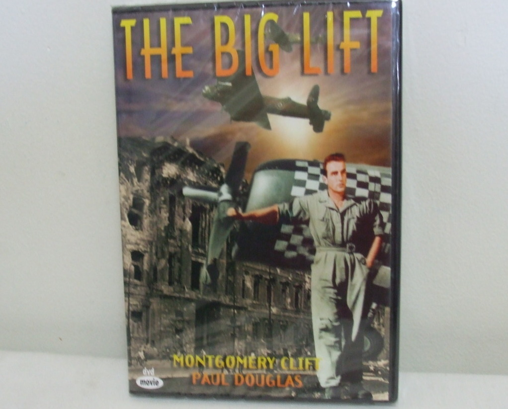 DVD New Sealed The Big Lift Montgomery Clift