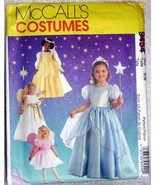 Princess Angels Costumes Pattern McCalls 9454 Child Girls Sizes 5 6  - $10.00