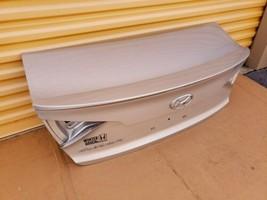 15-17 Hyundai Sonata Trunk Lid W/o Camera Spoiler or Taillights image 2