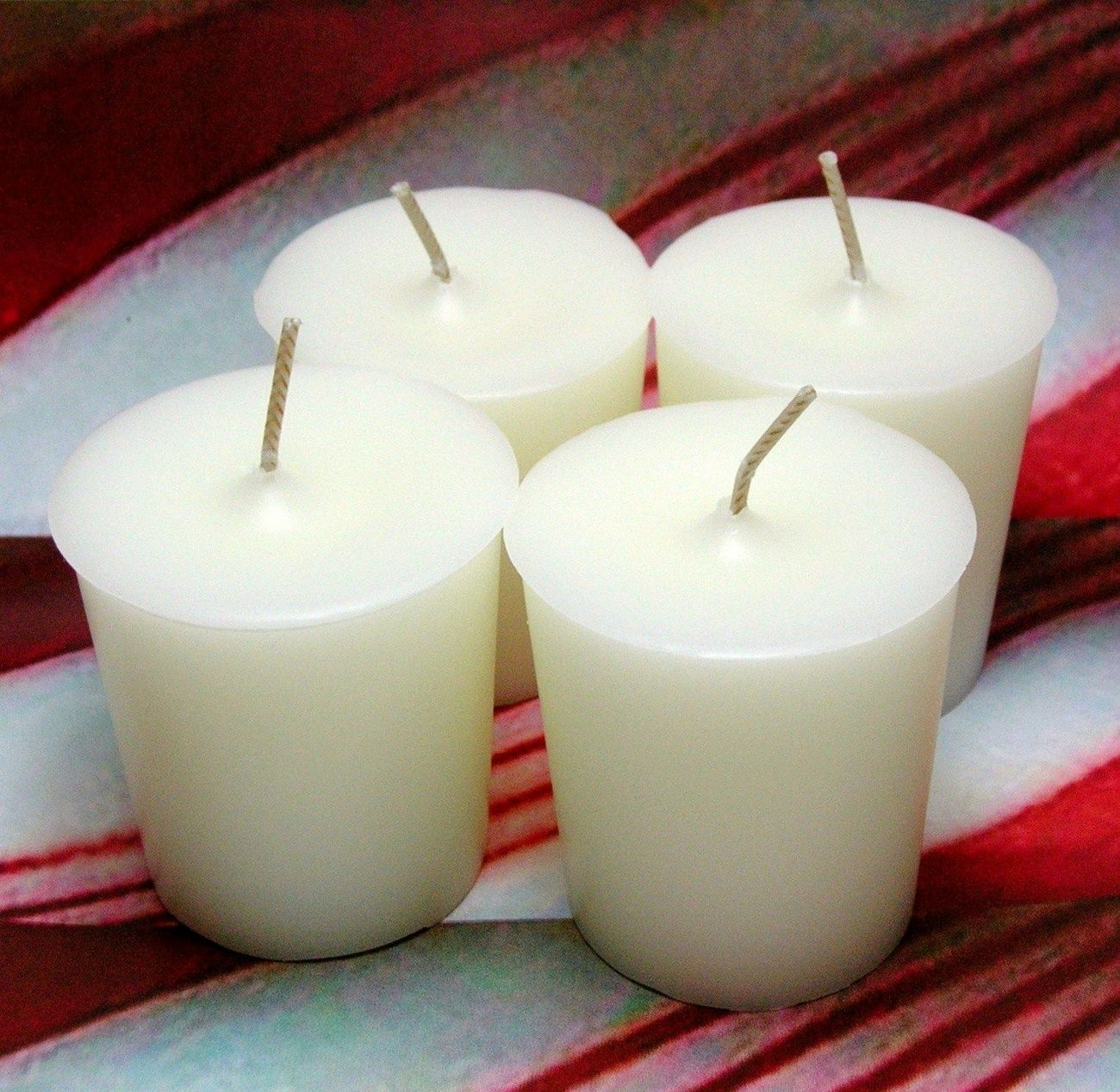 Peppermint PURE SOY Votives (Set of 4)