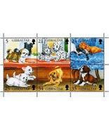 Gibraltar 1996 Hunde S/S MNH Shih Tzu, Labrador Boxer Spaniel ( ͡❛ ͜ʖ ͡❛) - £1.20 GBP
