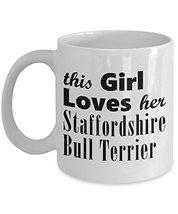 Staffordshire Bull Terrier - 11oz Mug - $14.95
