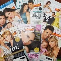 PEOPLE Magazine en Espanol Mexiican Magazine Lot of 6 issues - $5.95