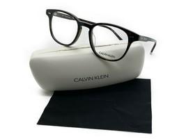 New Calvin Klein CK5960 214 Round Havana Eyeglasses 51mm with Case & Cloth - $48.47