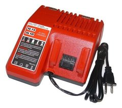 Red Dual Battery Charger For Milwaukee 48-59-1812 M18 LithiumIon 18V 14V US SHIP - $38.27
