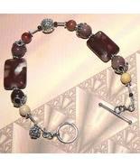 Sterling Silver Mookaite Bracelet - $35.00