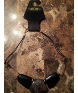 Black statement necklace - $7.00