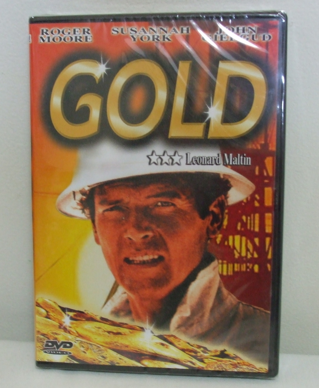 DVD New Sealed Gold Roger Moore and Susannah York