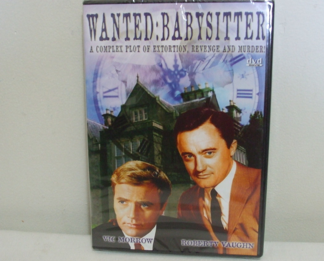 DVD New Wanted Babysitter Vic Morrow and Roberty Vaughn