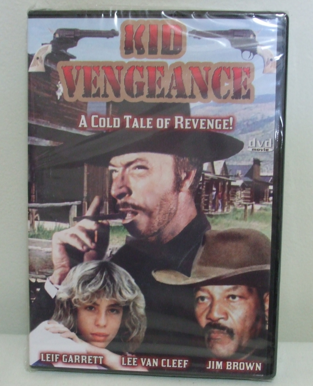 DVD New Sealed Kid Vengeance Lee Van Cleef  Jim Brown and Leif Garrett