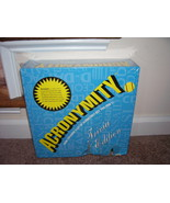 ACRONYMITY Party Board Game Trivia Edition - $12.96