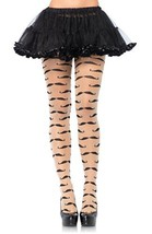 LA7293 Sheer Mustache Pantyhose [Apparel] - $12.88
