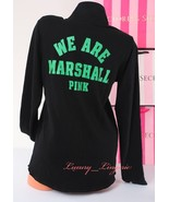 PINK VS Collegiate Collection Marshall Thundering Herd 1/4 Zip Sweat Jac... - $44.99