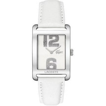 Lacoste Club Collection Andorra White Dial Women's watch #2000651 - $94.04