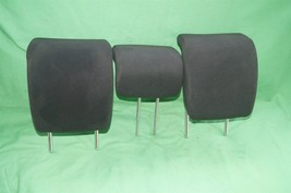 10-14 Honda Insight Rear Seat Cloth Headrests Head Rests Set image 1
