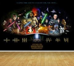 Star Wars Backdrop Wall Art Mural Photo Wall Paper Self Adhesive Vinyl W... - $48.42+