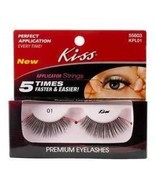 KISS Premium Eyelashes KPL01 55603 One Package 01 - $9.94