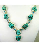 Santa Rosa Turquoise Polished Nuggets + Swiss B... - $208.32