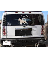 """AMERICAN BULLY decal LARGE SIZES 13"""" sticker pit bull bully life - $14.95"""