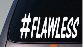 Hashtag flawless jdm sticker funny decal turbo ... - $3.19