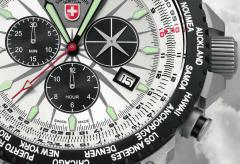 CX SWISS Military Watch HURRICANE WORLDTIMER 2 colors