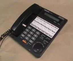 PANASONIC KX-T7431 DIGITAL SUPER HYBRID BLACK OFFICE PHONE NR -B - $39.95
