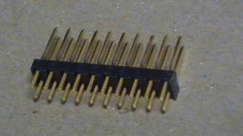 Lot (18) TE 87215-7 Rectangular Header Connectors Male Pins Tyco Electronics - $49.95