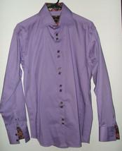 Bertigo mens size 3 casual designer dress shirt - $95.00