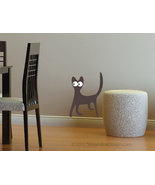 Silly Silhouette Cats Vinyl Wall Art - $9.95