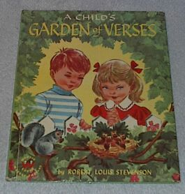 Children's Wonder book  A Child's Garden of Verses