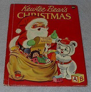 Kewtee bear christmas1