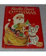 Wonder Book Kewtee Bear's Christmas - $6.95