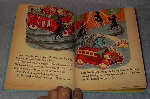 Wonder Book The Too Little Fire Engine