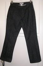 armani exchange ax charcoal black rainbow glitter cotton jeans size 29 m... - $49.49