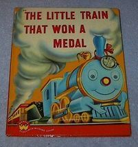 Wonder Book The Little Train that Won a Metal - $12.95
