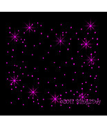 "Bling Sheet 12"" X 12"" - FUCHSIA (Hot Pink) - Iron on Rhinestone Transfer... - $4.99"