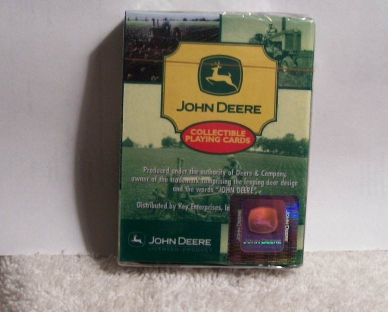 John Deere Collectible Playing Cards