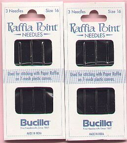 Raffia Needles....... 2 new packs