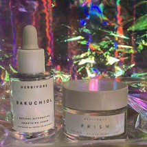 Herbivore Bakuchiol Retinol Alternative 10mL&NEW PRISM GLOW Facial Mask 15mL