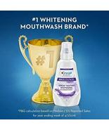 CREST 3D WHITE Whiter Smile In 7 Days! BRILLIANCE Clean Mint Mouthwash 3... - $27.77