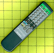 Sony RM-V10 TV Cable VCR REMOTE  + RMV10 Set Up Gude w/ 2-Digit  Codes -... - $12.30