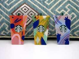 Starbucks Korea Cards Lot of 3 (0 balance) for Collector - $15.00