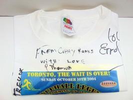 Men's - DanceHall Legends T-Shirt - Large  Fitzroy, Dunkley, Ranks - Signed - $29.40