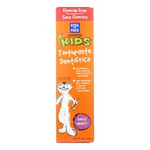 Kiss My Face Kids Toothpaste Fluoride Free Berry Smart - 4 oz - $5.99