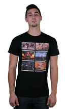 Bench Uomo Fama Calce Luce Musica Electronic Concerto Video Youtube T-Shirt image 3