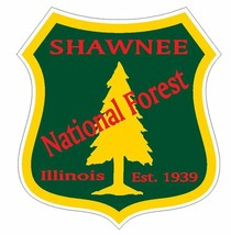 Shawnee National Forest Sticker R3308 Illinois You Choose Size - $1.45+